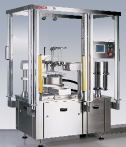Bosch Packaging's FXS 2020 automatic syringe filling system