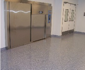 Sherwin-Williams flooring article: NIAID cleanroom