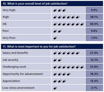 Pharmaceutical Job Satisfaction | Erosion Control: 2009